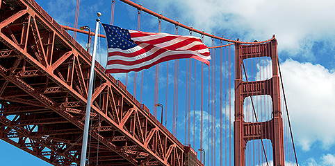 Golden Gate Bridge -- Flag Manufacturers Association of America - FMAA